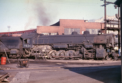 UP 5024, Ogden. (Dave England Photo)