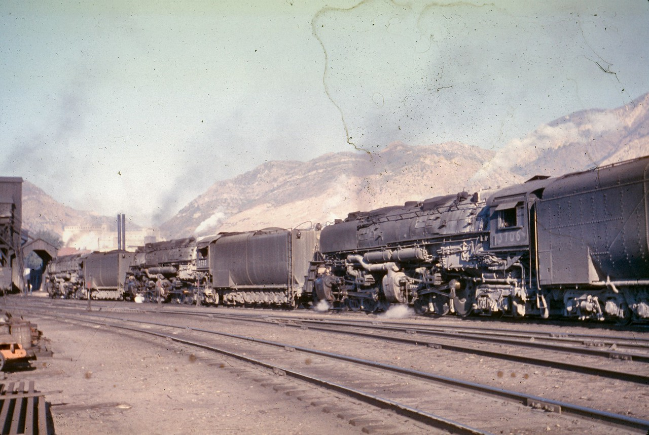 UP 3703 and 3706, Ogden. (Dave England Photo)