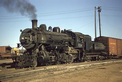 UP 324, Council Bluffs. September 30, 1956. (Dave England Photo)