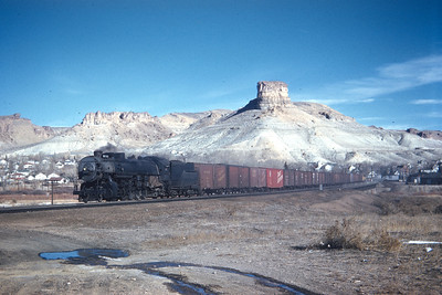 UP 5511, Green River, Wyoming. (Dave England Collection)