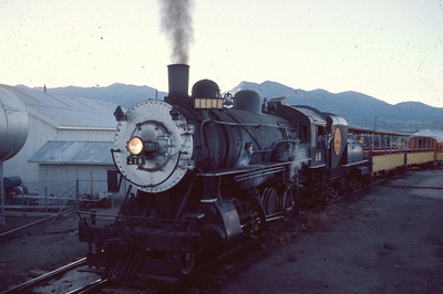 UP 618, Heber City, Utah, July 1974. (Dave England Photo)
