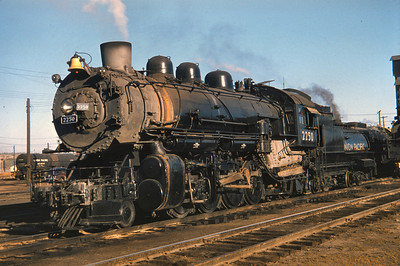UP 2250, Council Bluffs, October 7, 1956. (Dave England Photo)