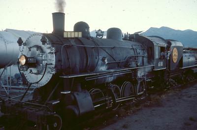 UP 618, Heber City, Utah, July 1974. (Dave England Photo)