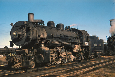 UP 1938, Council Bluffs, September 15, 1956. (Dave England Photo)