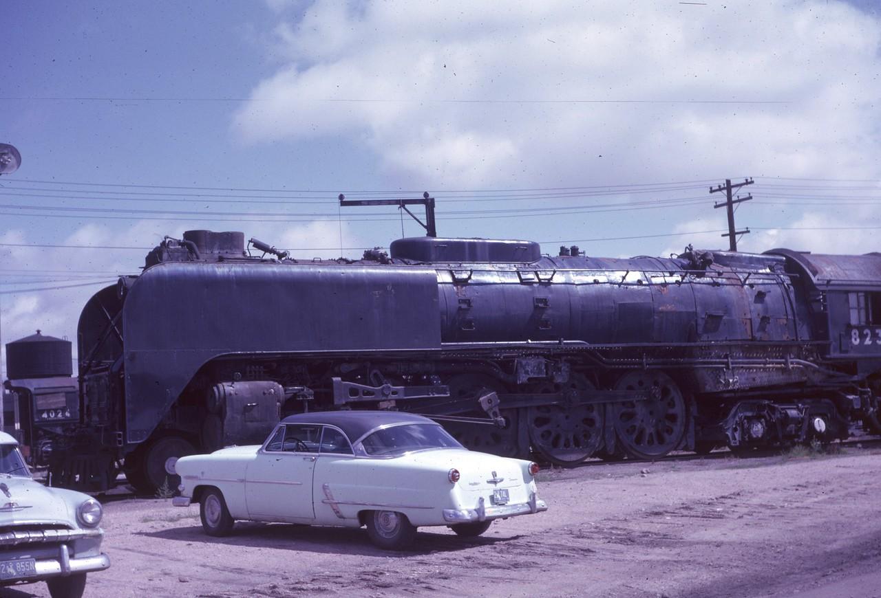 UP 823, Cheyenne. September 1962. (Dave England Photo)