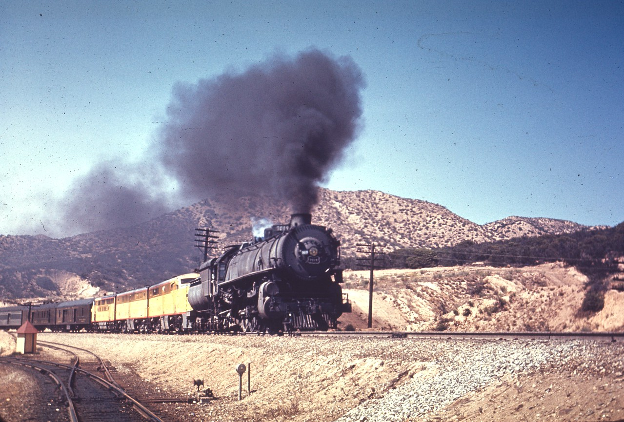 UP 7019, cajon. (Chard Walker Photo, Dave England Collection)