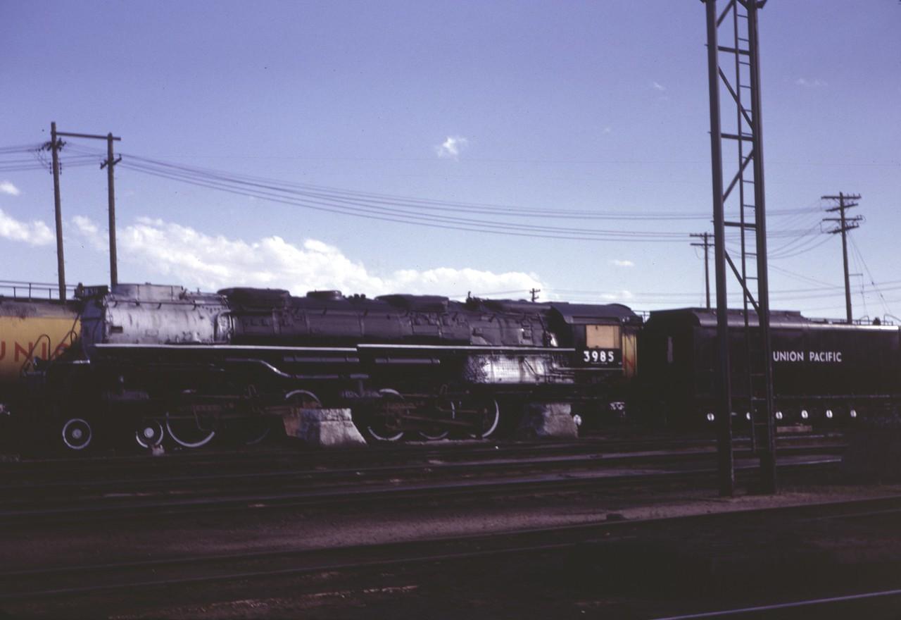 UP 3985, Cheyenne, July 1968. (Dave England Photo)
