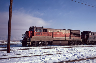 Salt Lake City. February 1973.