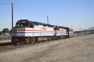Amtrak_F40PH_231-with-train_Salt-Lake-City_June-1992_Dean-Gray-photo
