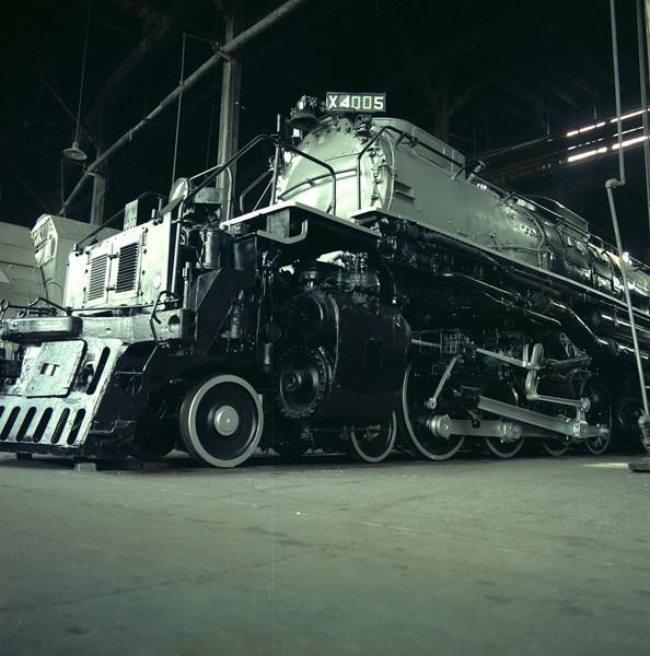 UP 4-8-8-4 4005, Cheyenne, September 13, 1969 (Dean Gray Photo)