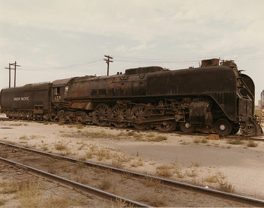 UP 4-8-4 833, Cheyenne. September 13, 1969. (Dean Gray Photo)