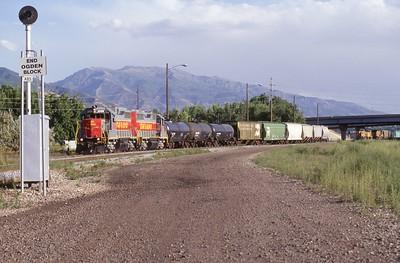 Utah-Ry_GP38_2008-with-train_Ogden_1999_002_Dean-Gray-photo