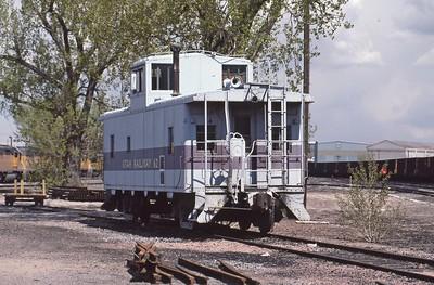 Utah-Ry_Caboose_62_Provo_May-1991_Dean-Gray-photo