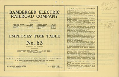 Bamberger-Employee-Timetable_1930_outside-front