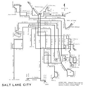 Salt Lake City Lines, 1968. (Motor Coach Age)