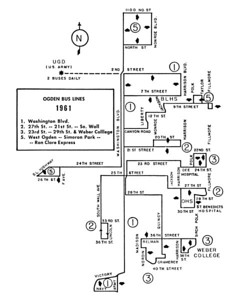 Ogden, 1961. (Motor Coach Age)
