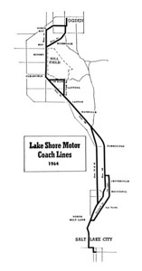 Lake Shore Lines, 1964. (Motor Coach Age)