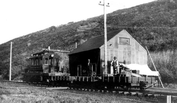 Emigration Canyon RR loc 1 origin-1910