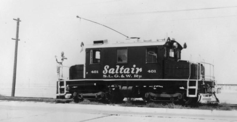 Salt Lake Garfield & Western 401.