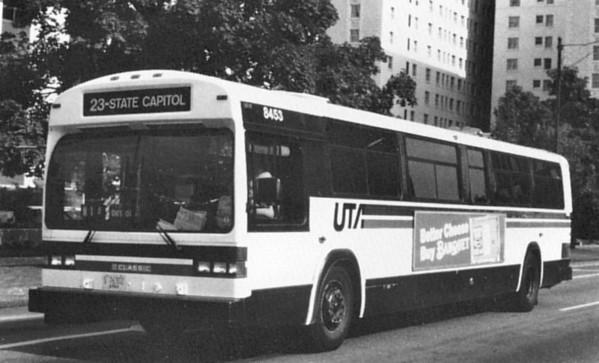 Utah Transit Buses