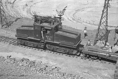 Kennecott_741-with-train_Bingham_Sep-1-1949_003_Emil-Albrecht-photo-0295-rescan