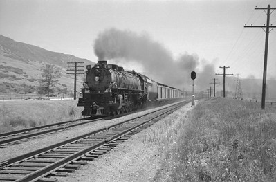 UP_4-8-4_802-with-extra-train_Farmington_June-25-1950_001_Emil-Albrecht-photo-0269-rescan