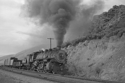 UP_2-8-2_2710-with-train_near-Echo_Aug-25-1951_001_Emil-Albrecht-photo-0277-rescan