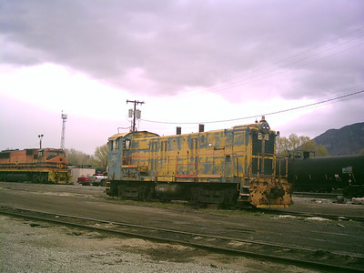 Geneva Steel 23, at UP's Provo yard, April 13, 2009