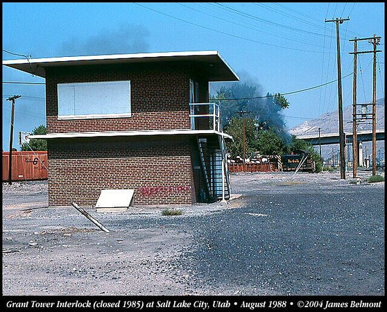 The Grant Tower building. August 1988. (James Belmont Photo)