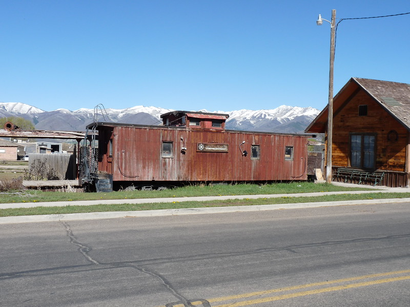 Former Utah Railway caboose 53, located on private property