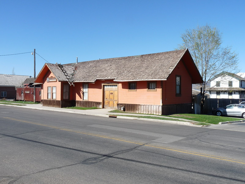 Former D&RGW Heber depot, located on private property