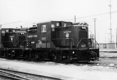 USA 1227 at Roper Yard in 1972.