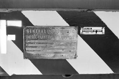 USA 1663 builder plate.