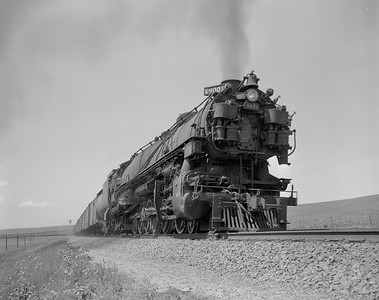UP_4-12-2_9001-with-train_Archer-Wyo_July-1950_Jim-Ady-photo