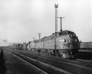 up-1480_F7_with-train_laramie-wyoming_aug-1956_jim-shaw-photo