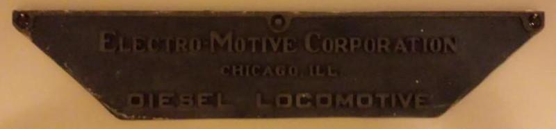 EMC Loco Plate - CMP