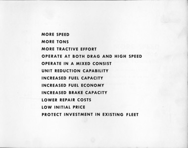 Features of the GP30.