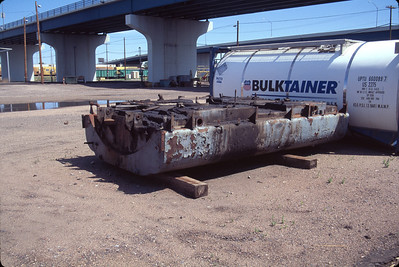 E-unit fuel tank. Cheyenne. July 14, 2000. (Don Strack Photo)