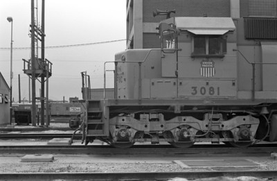UP SD40 3081, 1983. (Don Strack Photo)