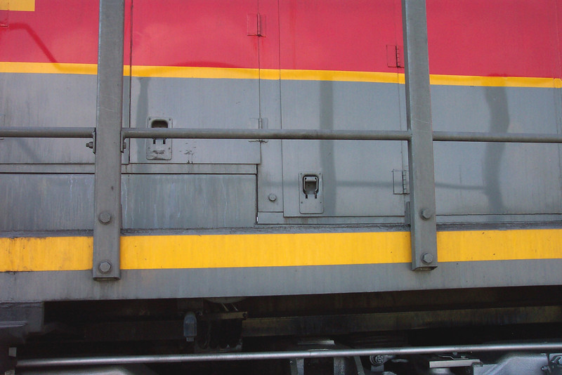 Utah Railway SD50S 6061 left rear carbody. (Don Strack Photo)