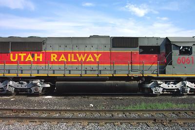 Utah Railway SD50S 6061, right side. (Don Strack Photo)