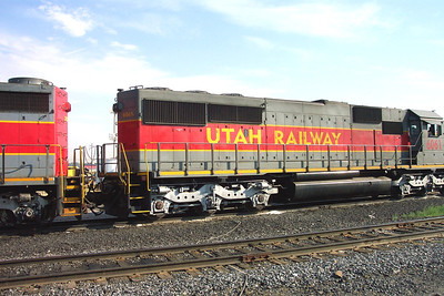 Utah Railway SD50S 6061, right rear carbody. (Don Strack Photo)
