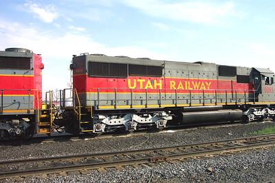 Utah Railway SD50S 6061, right rear carbody. (Don Strack Photo)