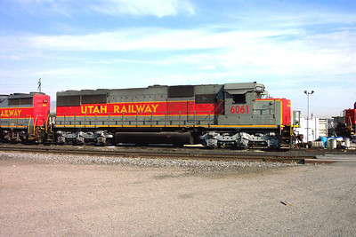 Utah Railway SD50S 6061. Built in Australia as Hamersley Iron 6061, August 1982; to Utah Railway in June 2001. (Don Strack Photo)