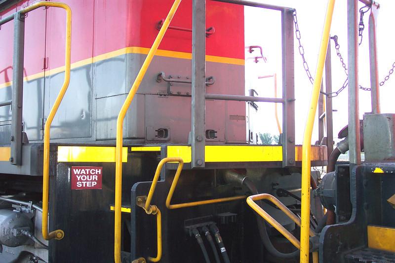 Utah Railway SD50S 6061, left rear carbody details. (Don Strack Photo)