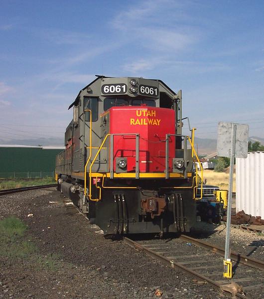 Utah Railway SD50S 6061 front. (Don Strack Photo)
