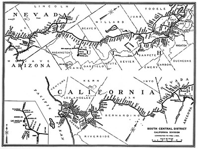 Union Pacific Maps