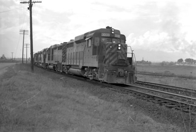D&RGW passing through Provo. June 10, 1965. (Marvin Black Photo)