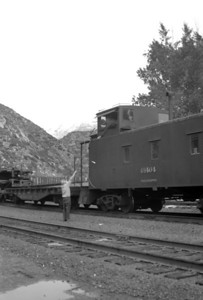 D&RGW passing up orders at Provo. September 18, 1965. (Marvin Black Photo)