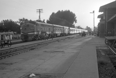 D&RGW Prospector stopped at Provo. May 22, 1965. (Marvin Black Photo)